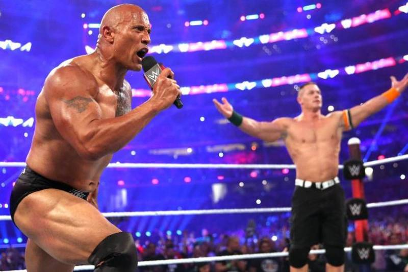 How the Rock, John Cena's WWE WrestleMania Spot Impacts