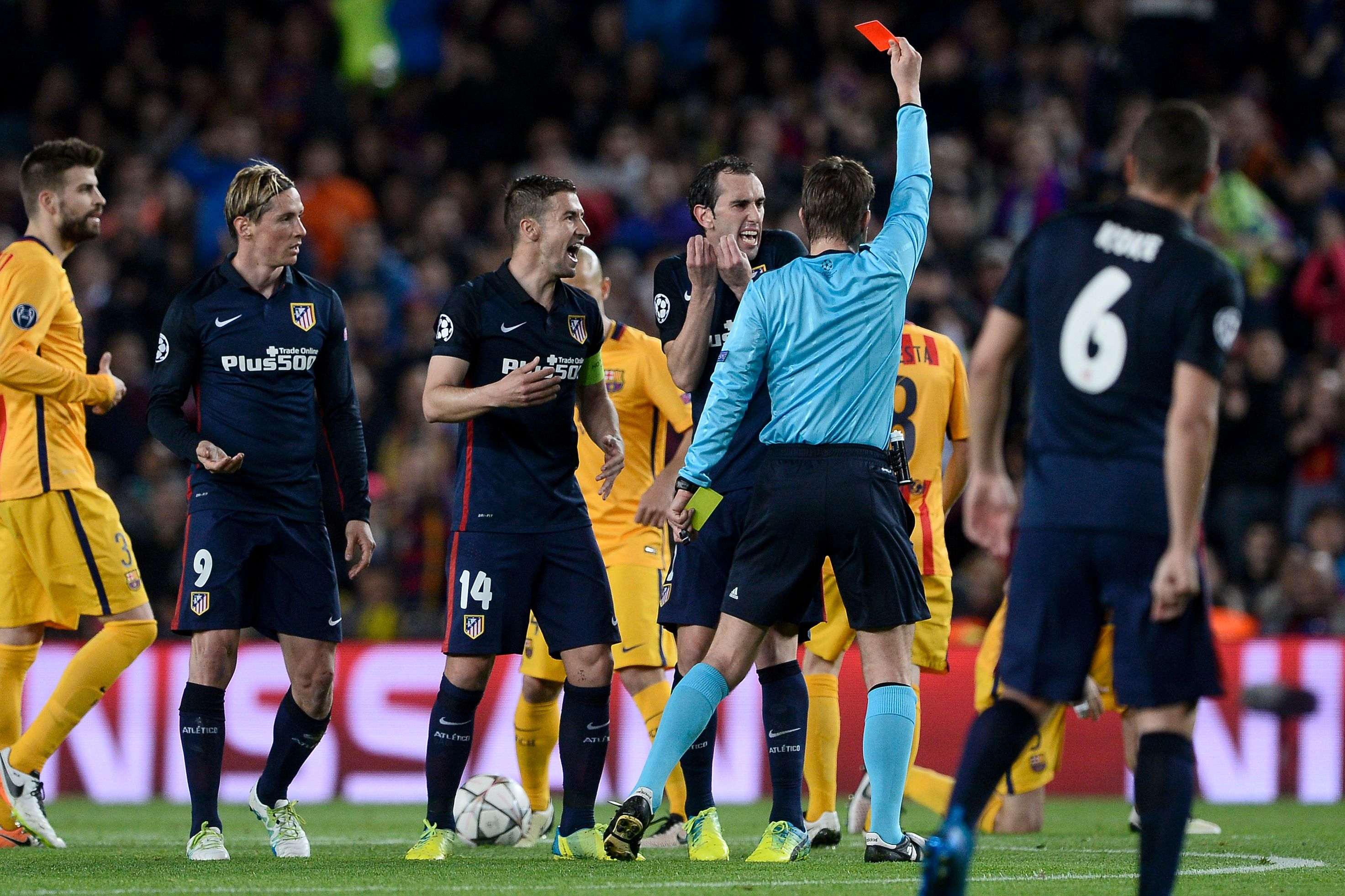 Barcelona Vs Atletico Madrid Score Reaction From 2016 Champions League Leg 1 Bleacher Report Latest News Videos And Highlights