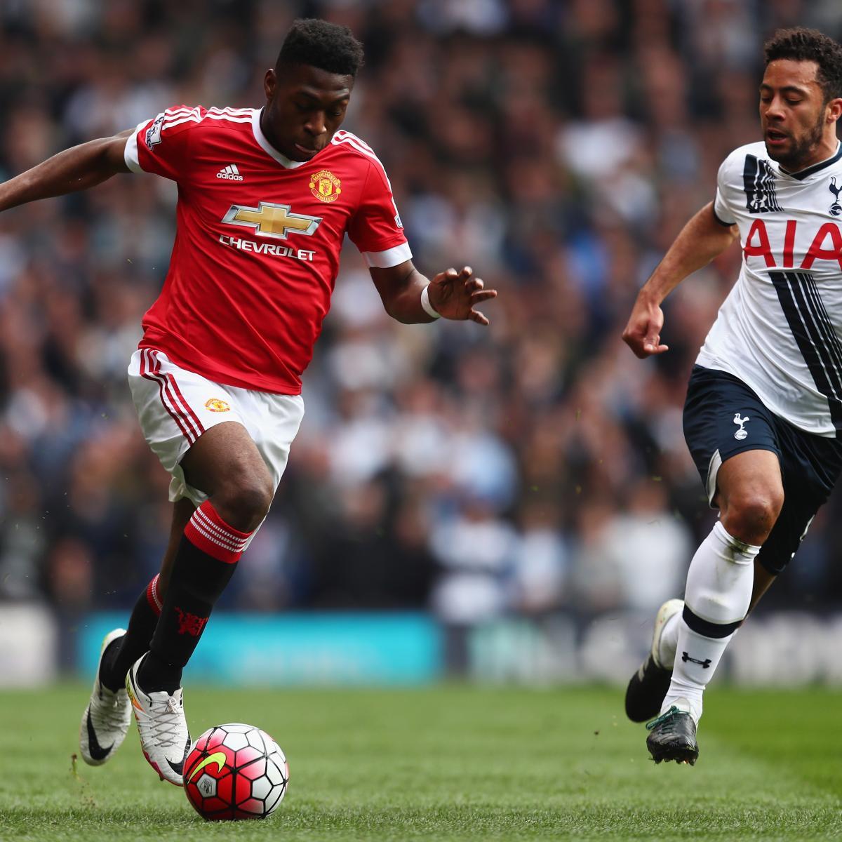 Tottenham Hotspur Vs Man United Tickets: Tottenham Hotspur Vs. Manchester United: Fosu-Mensah Sub