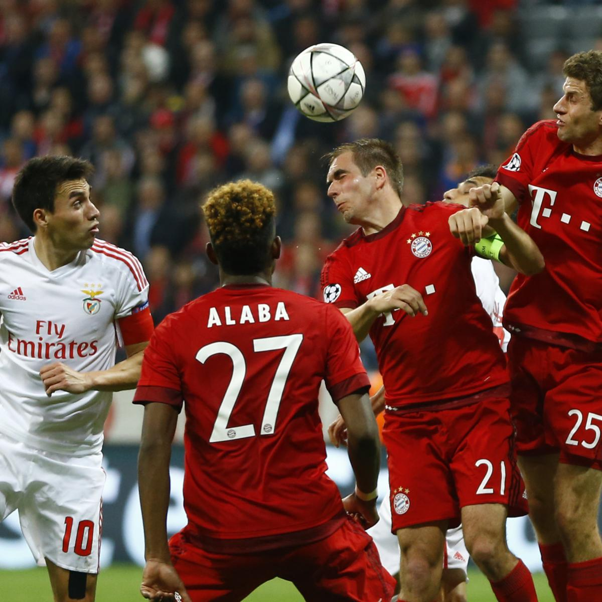 Benfica Bayern Stream