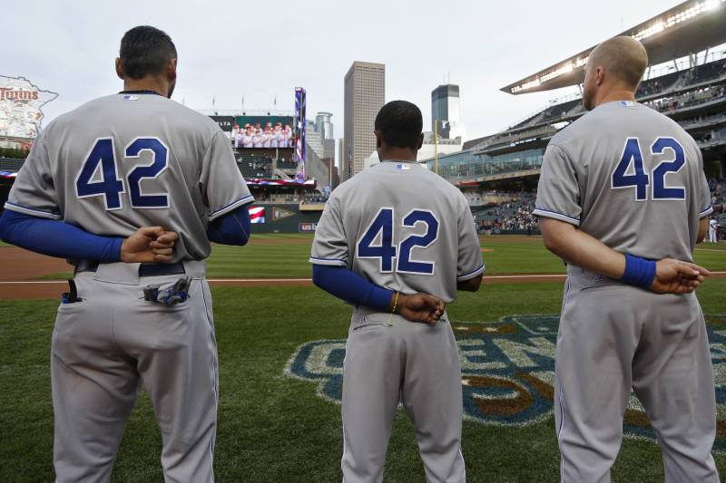 821d7848630 Jackie Robinson Day 2016  How Sports World Is Honoring MLB Icon ...