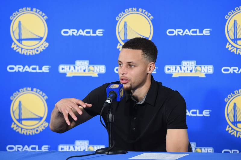 meet 9ba9b 661a8 Stephen Curry Merchandise Sales Break Single-Season Record ...