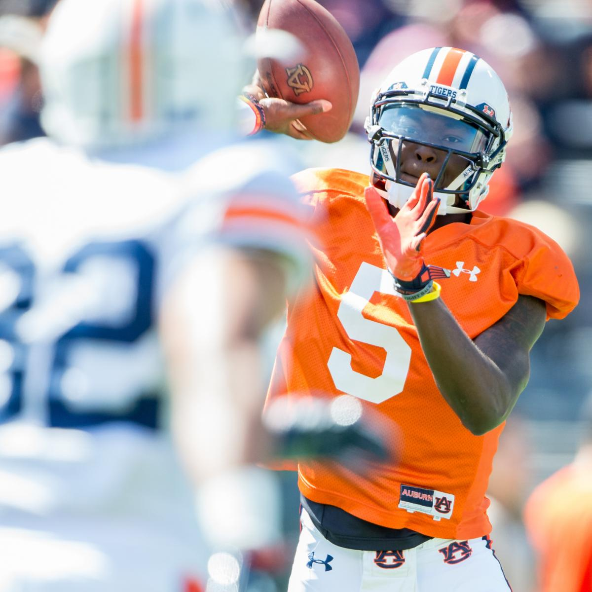 Auburn Football: Projecting Tigers' Post-Spring 2-Deep ...