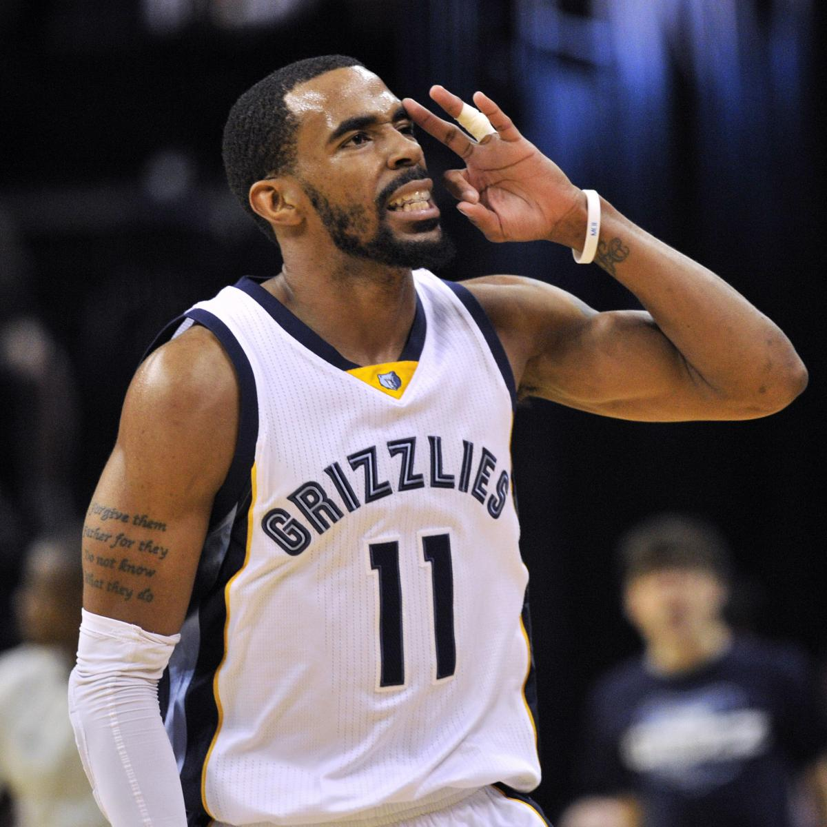 Mike Conley, Grizzlies Reportedly Agree To New Contract