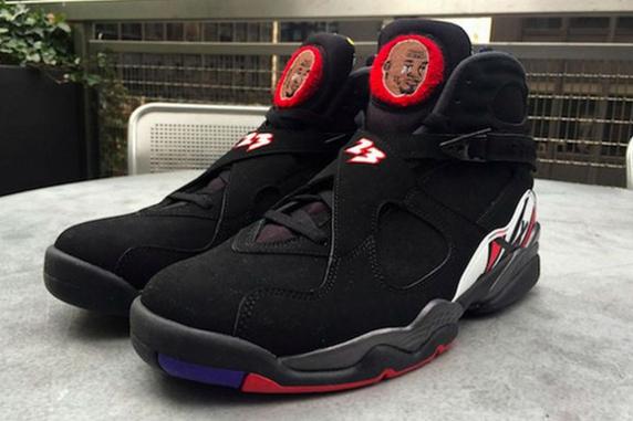 ffb5b41946e7 Sneaker Customizers Tailor Air Jordan 8s with Crying MJ Meme ...