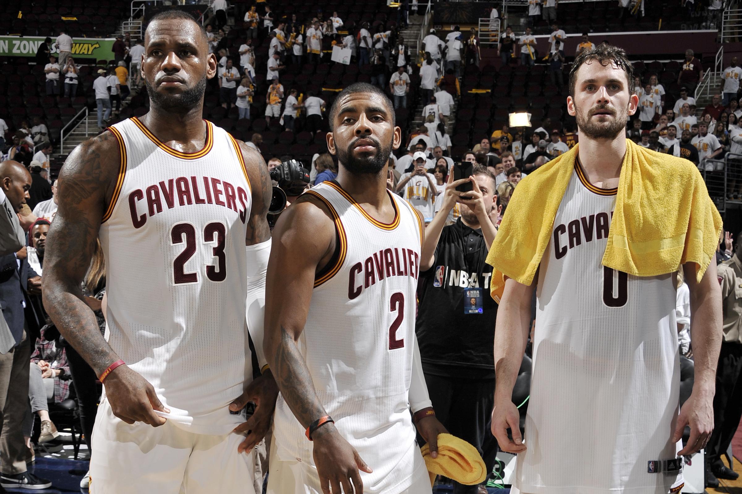 Cleveland Cavaliers Big 3 vs Golden State Warriors