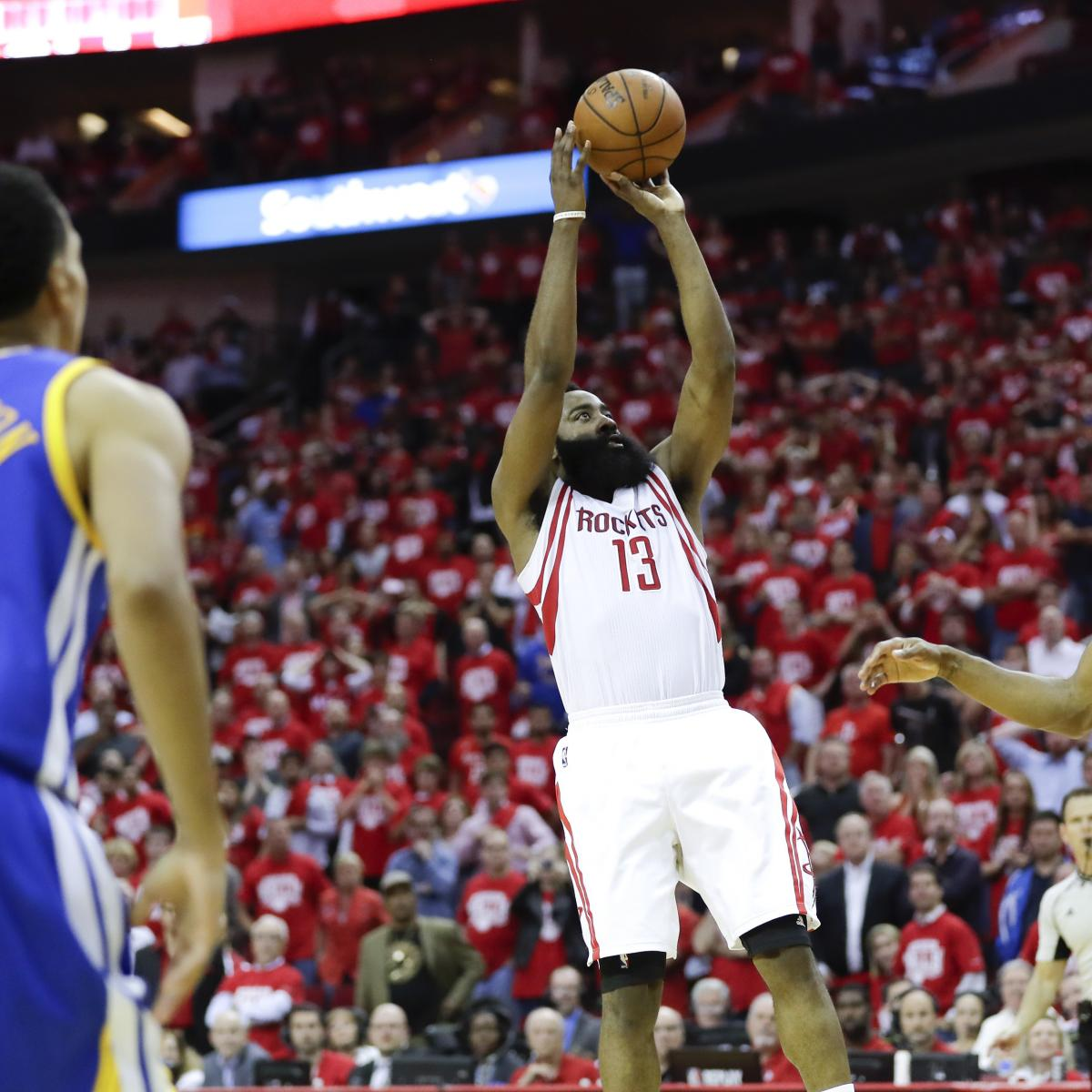 Rockets Vs Warriors James Harden: James Harden Comments On NBA Ruling He Pushed Off On Game