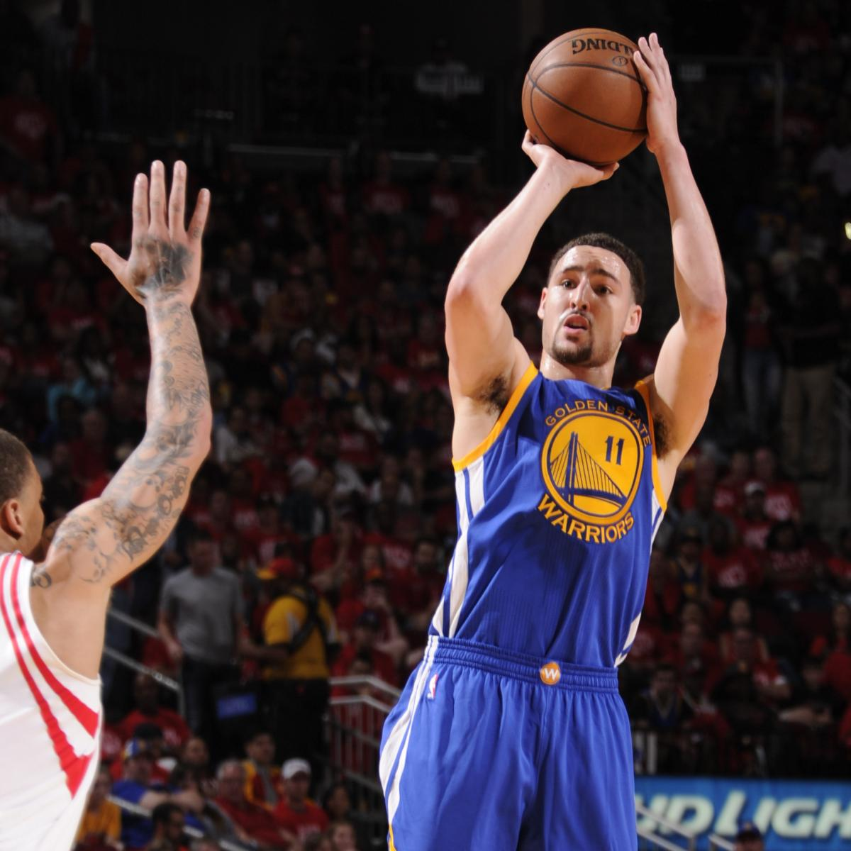 Rockets Vs Warriors May 24: Warriors Set NBA Record Vs. Rockets For Most 3-Pointers In