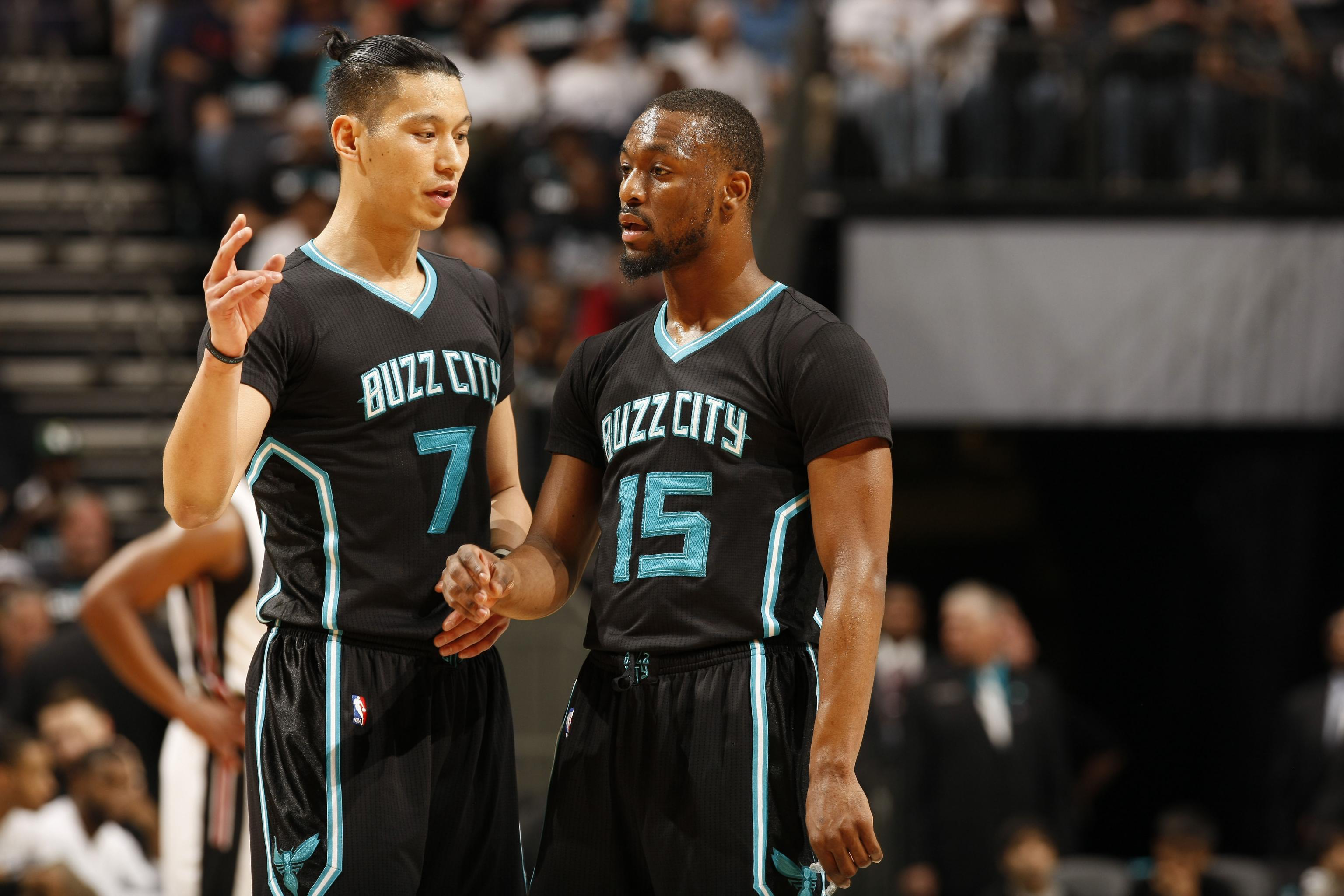 meet 59ab5 b576a Kemba Walker, Charlotte Hornets Getting Help from Jeremy Lin ...