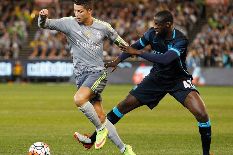 Manchester City Vs Real Madrid Live Score Highlights From