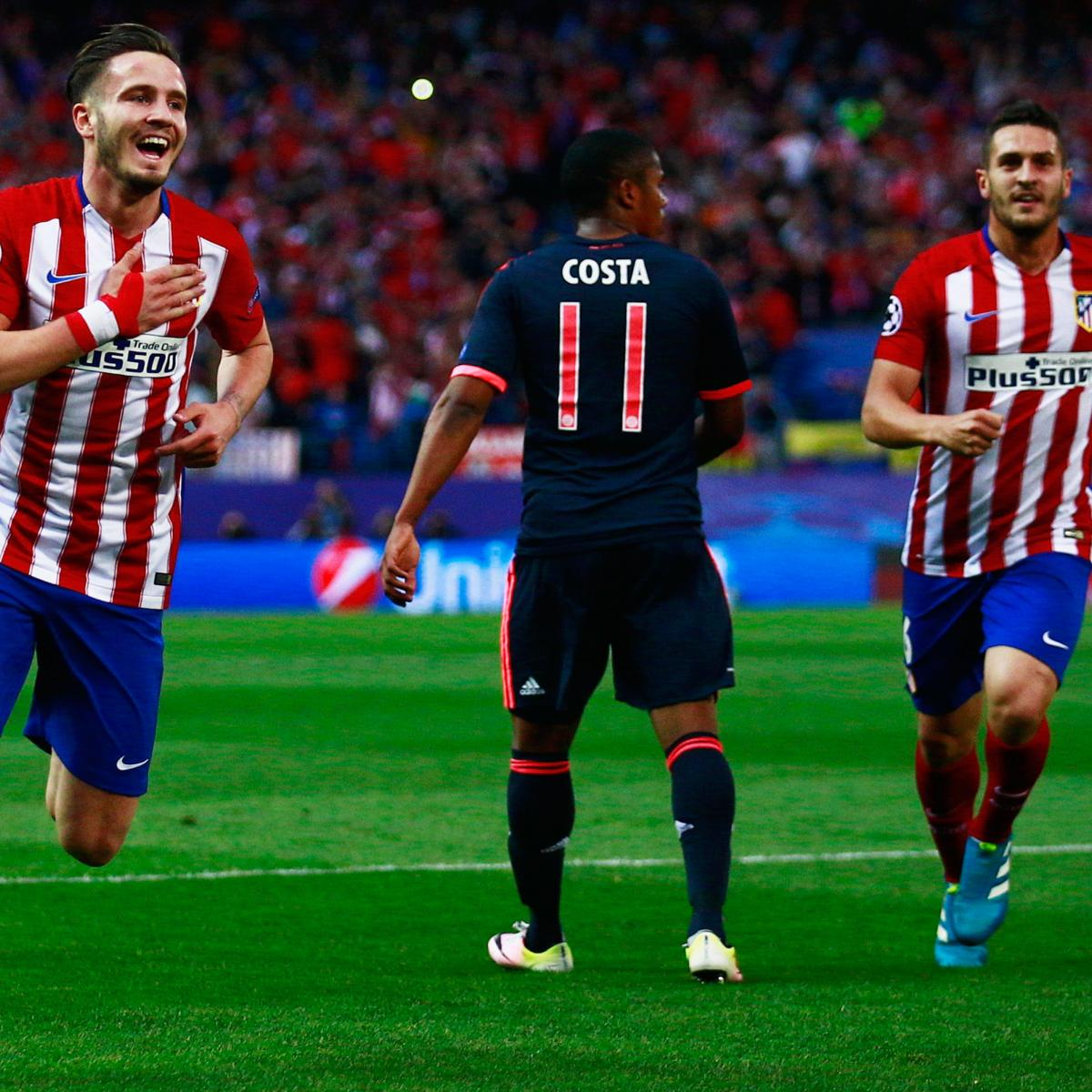 Atletico Madrid Vs Bayern