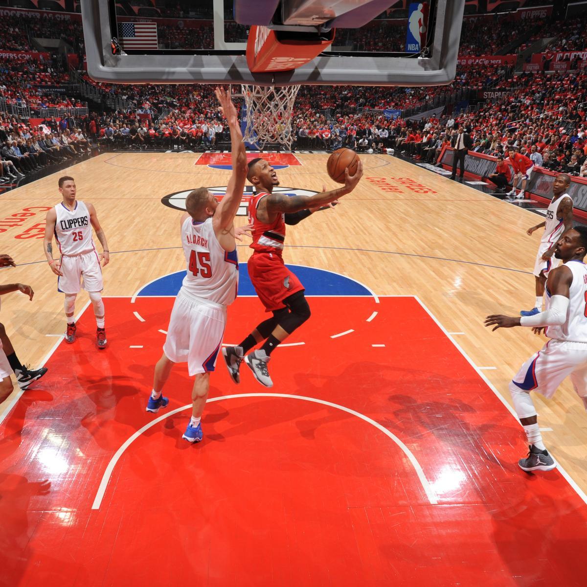 Portland Blazers Game Score: Trail Blazers Vs. Clippers: Game 5 Score, Twitter Reaction