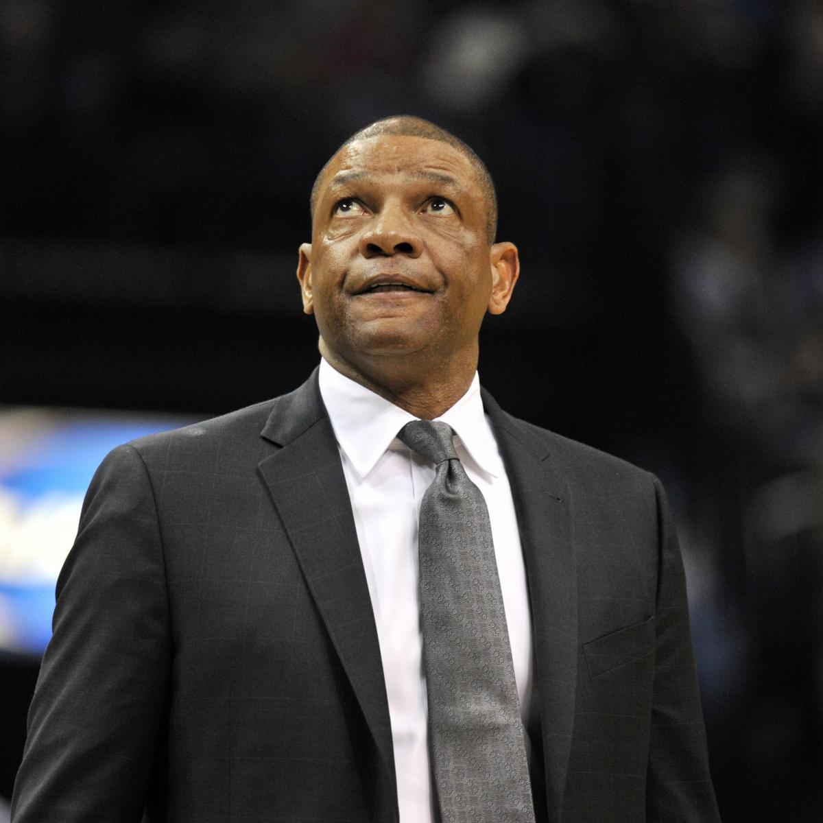 Blazers Head Coach: Doc Rivers Tears Up Thinking About Mother Prior To Game 5