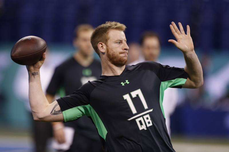 97c974b0d Carson Wentz to Eagles  Twitter Reacts as QB Is Selected in 2016 NFL Draft