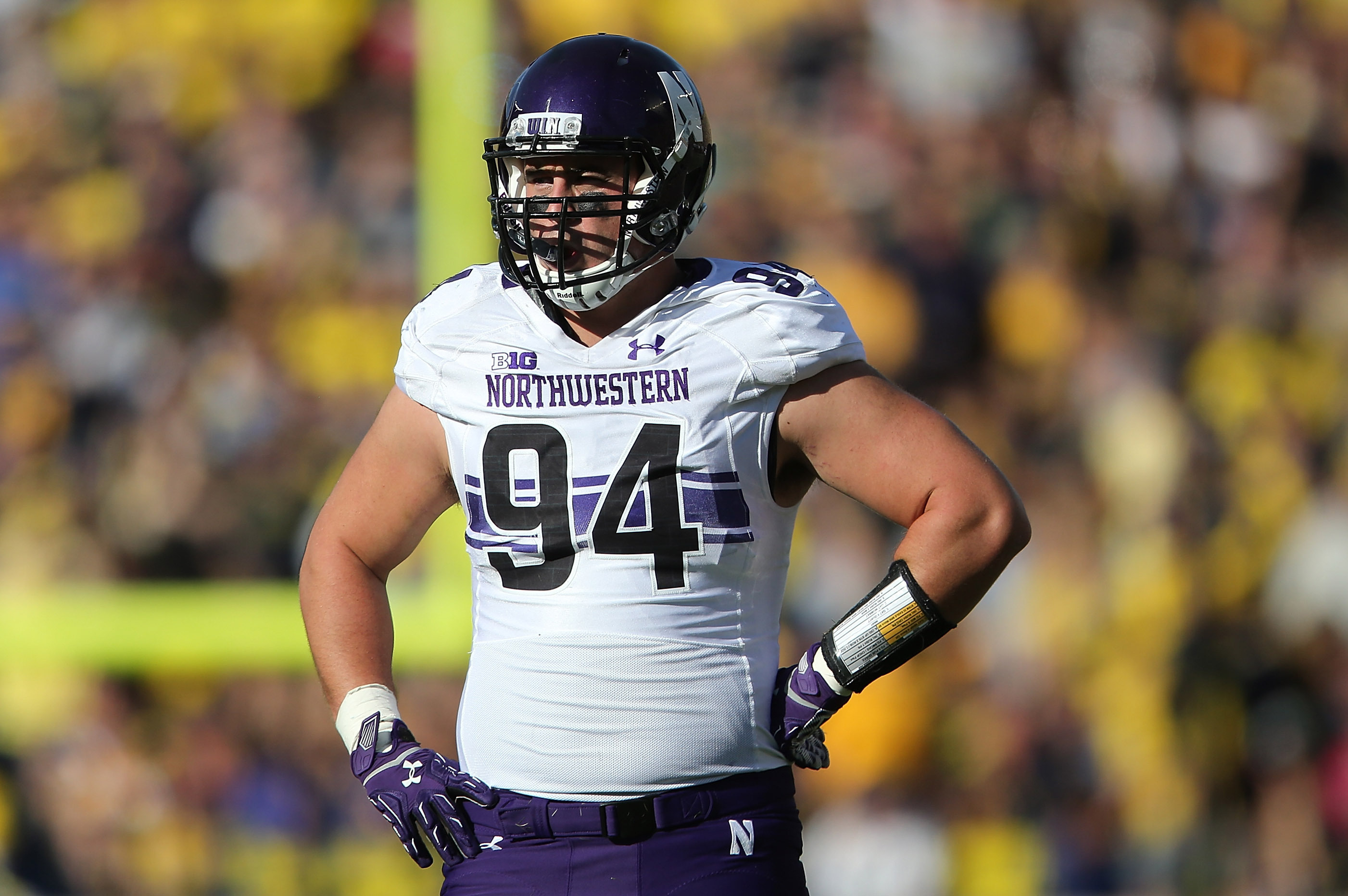 online store a5233 e11e1 Dean Lowry NFL Draft 2016: Scouting Report, Grade for ...