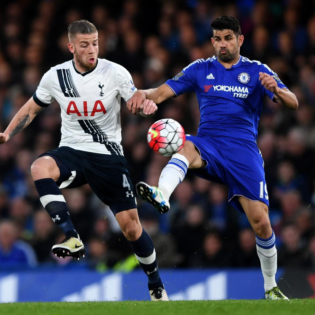 Chelsea Vs Tottenham Score Reaction From 2016 Premier