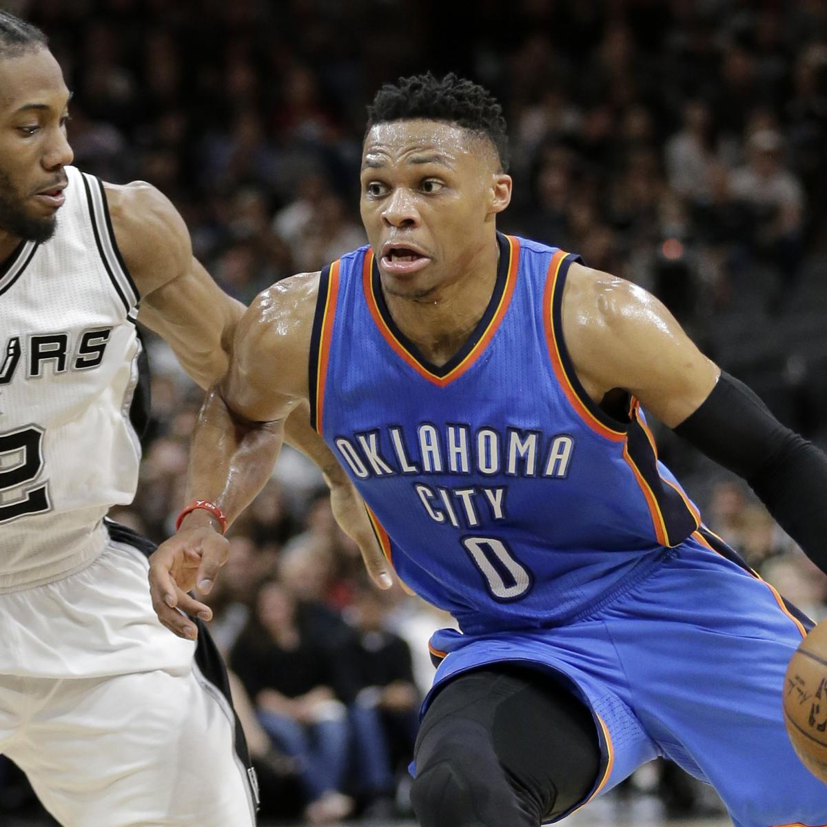 NBA Playoffs 2016: Updated Bracket Results, Odds And