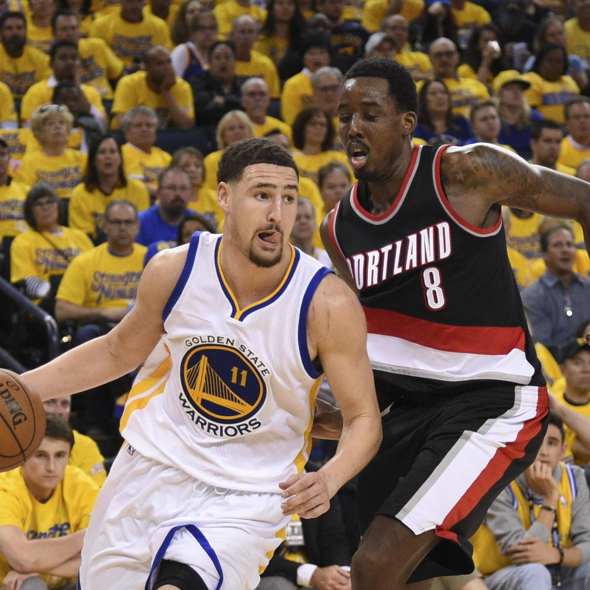 Blazers Game 3: Warriors Vs Trail Blazers: Game 3 Video Highlights, Recap