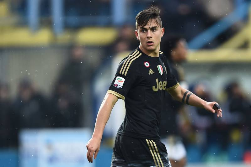 08b99573c Juventus  forward from Argentina Paulo Dybala looks on during the Italian  Serie A football match
