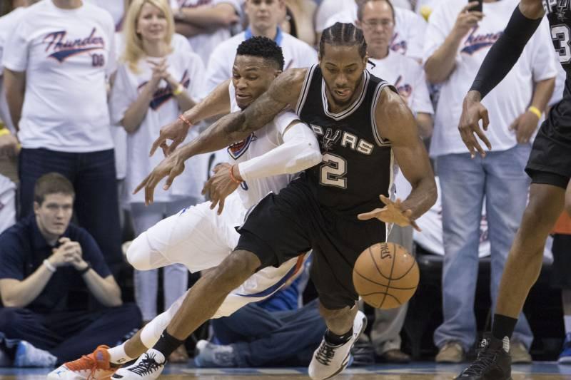 00dab8d3c7d3 San Antonio Spurs vs. Oklahoma City Thunder  Live Score