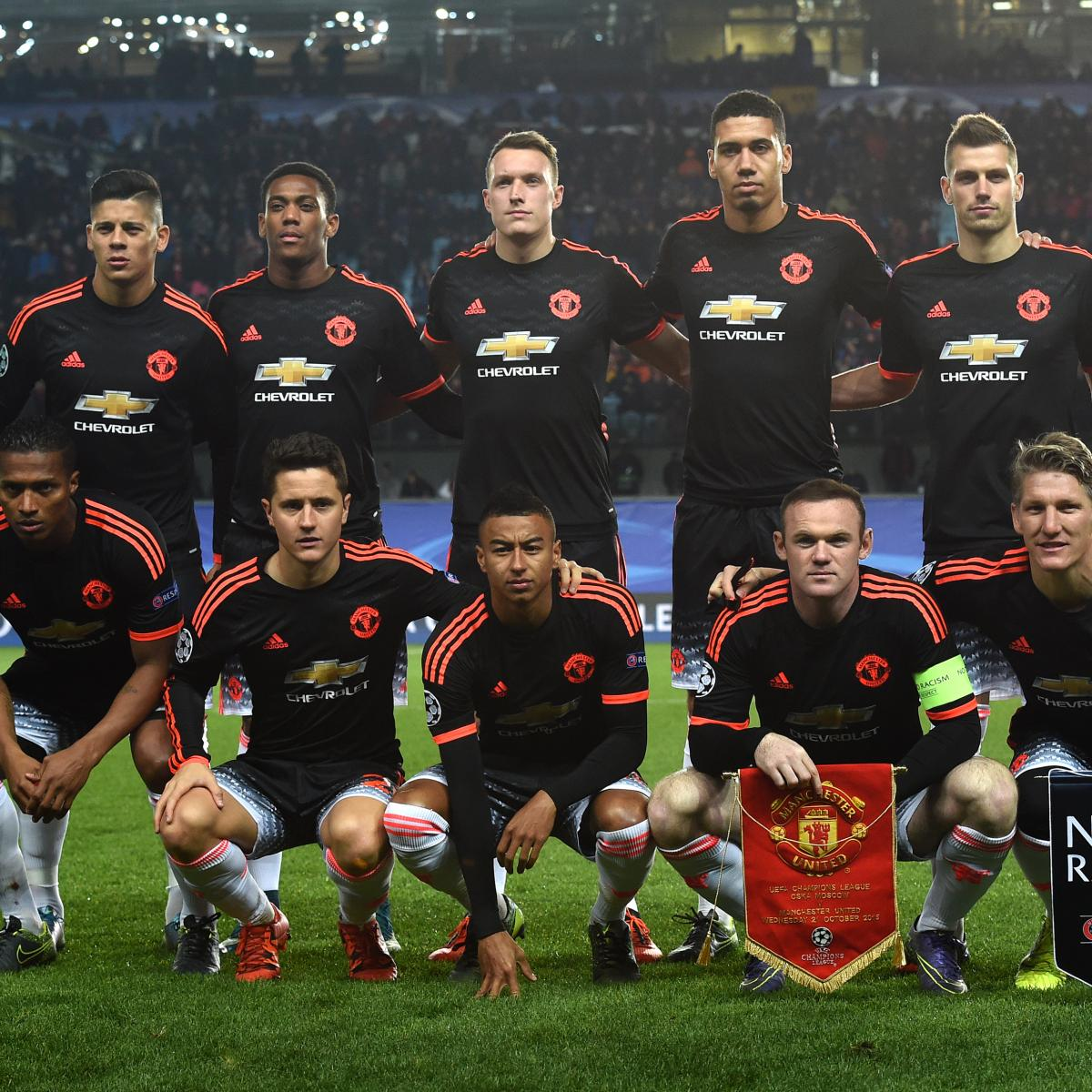 Power Ranking Every Manchester United Player from 2015/16 Premier League  Season   Bleacher Report   Latest News, Videos and Highlights