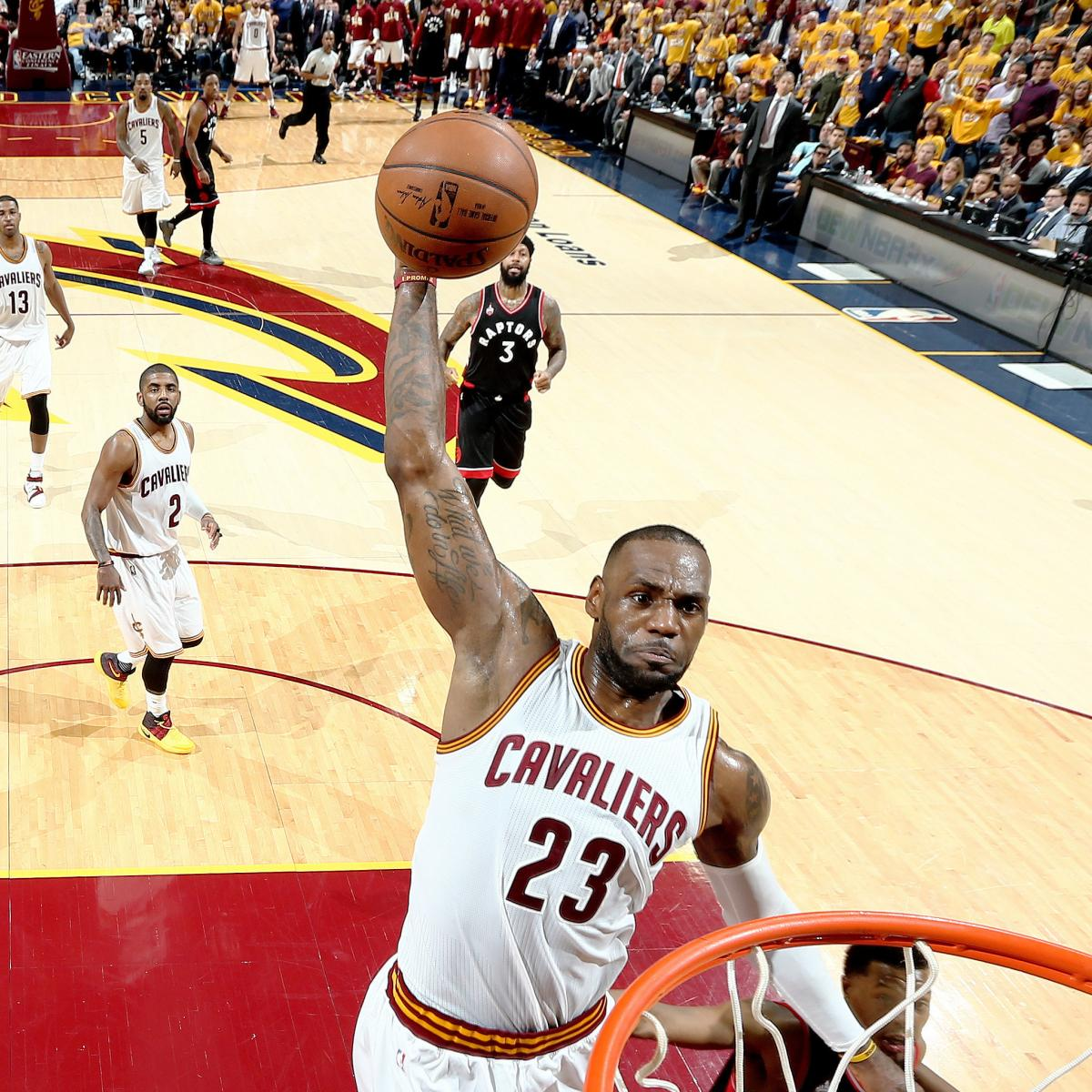 Raptors vs. Cavaliers  Game 1 Score and Twitter Reaction from 2016 NBA  Playoffs  7fc2bceb9