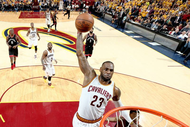 Raptors vs. Cavaliers  Game 1 Score and Twitter Reaction from 2016 ... e28c35030