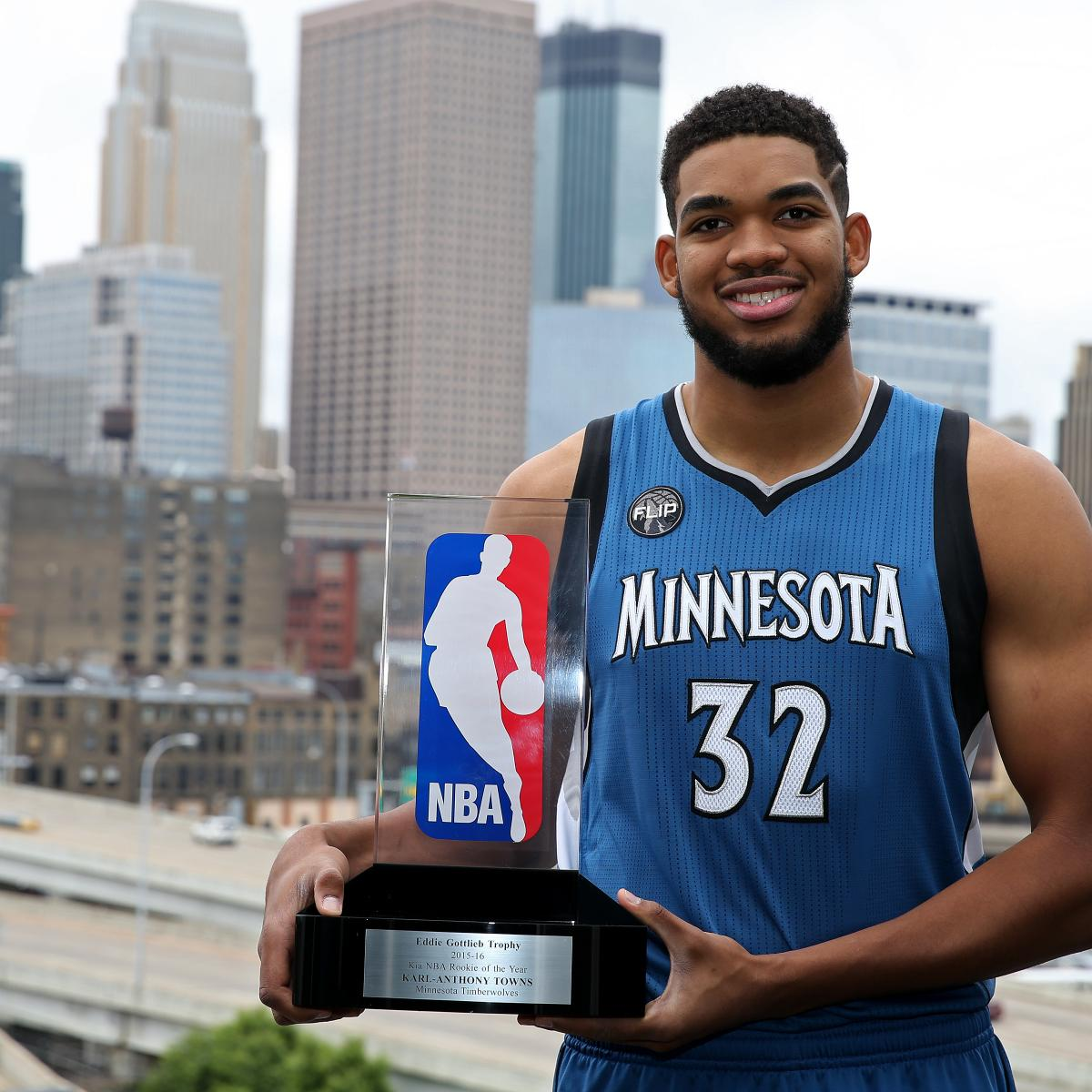 NBA All-Rookie 2015-16 1st, 2nd Teams Announced: Complete