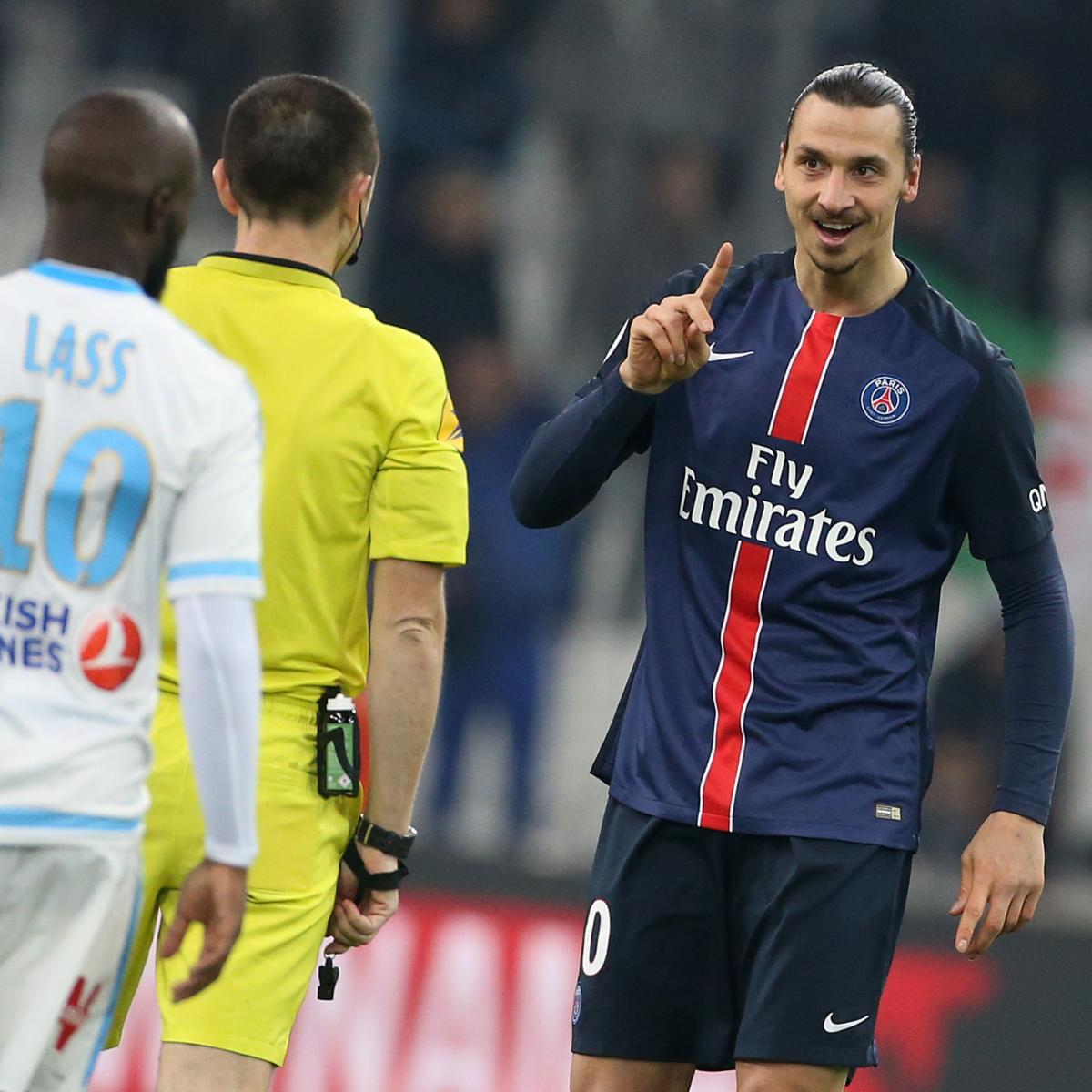 marseille vs psg team news preview live stream tv info bleacher report latest news. Black Bedroom Furniture Sets. Home Design Ideas