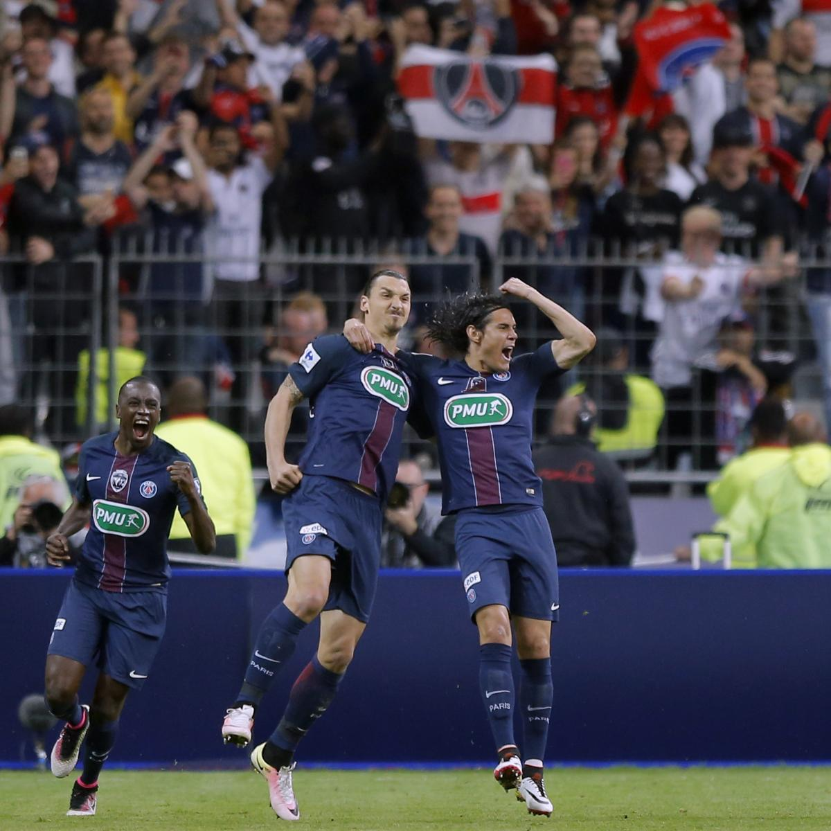Arsenal Vs Psg Score Reaction From 2016 Champions: Coupe De France Final 2016: Score, Reaction From PSG Vs