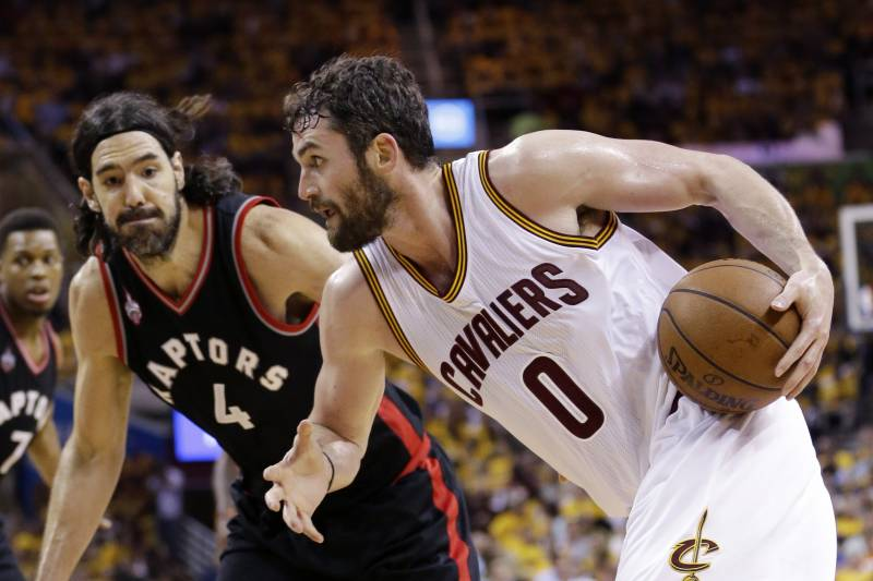 8781afbb711 Raptors vs. Cavaliers  Game 5 Score and Twitter Reaction from 2016 NBA  Playoffs
