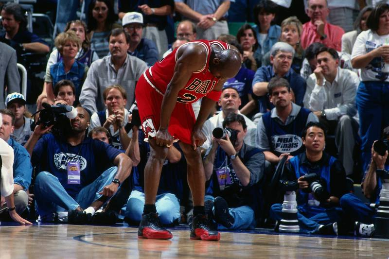 54591c9fe883 The Legacy of the Air Jordan 12  Flu Game