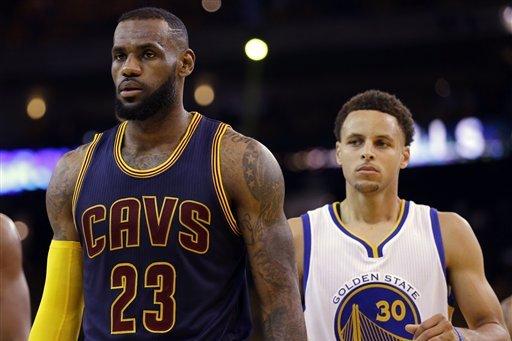 52395dc5e5ea NBA Finals 2016  Cavaliers vs. Warriors Game 1 Odds