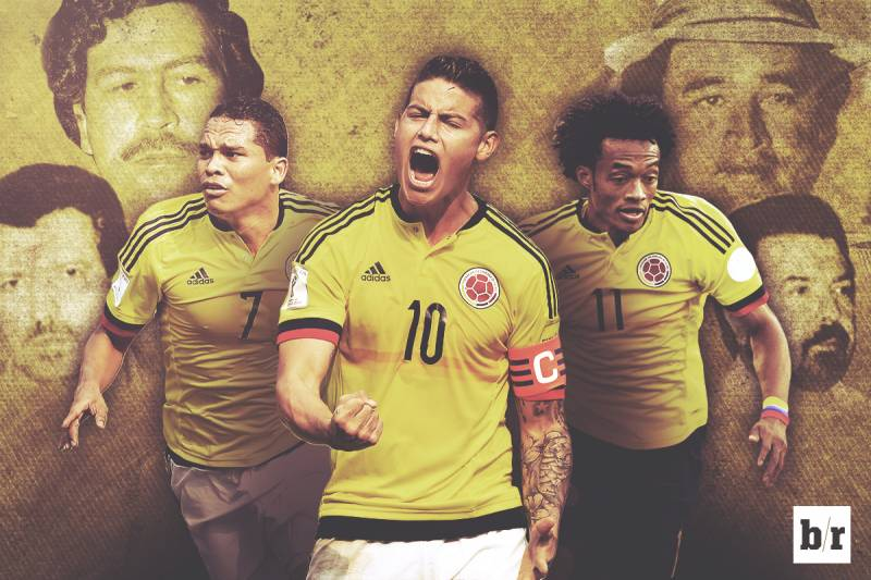 b7c41dc9799 Narco-Football Is Dead: Celebrating a Colombia Reborn   Bleacher ...