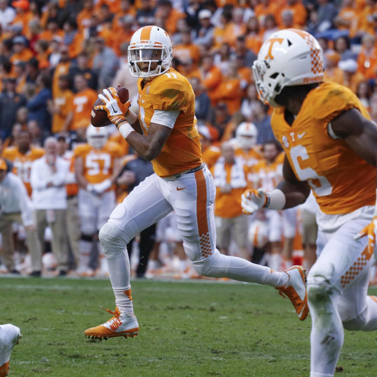 Tennessee Football: Volunteers' 2016 Offseason Summer ...