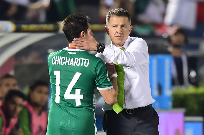 8178cdb7c Javier Hernandez helped Juan Carlos Osorio s team pick up a win over  Jamaica.