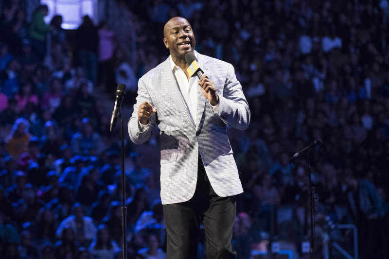 Magic Johnson Requests Lakers to Remove Honorary Title of VP