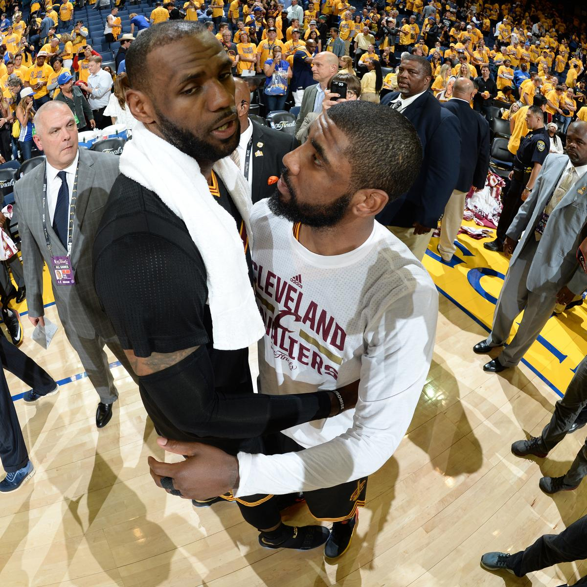 Warriors Come Out To Play Bleacher Report: LeBron, Kyrie Became 1st Teammates To Each Score 40-Plus