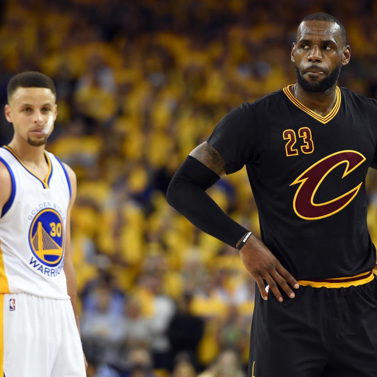 Warriors Game Broadcast Tv: NBA Finals Schedule 2016: Warriors Vs. Cavaliers Game 6 TV