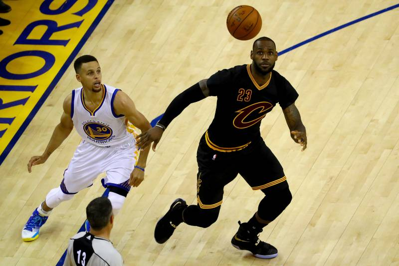 best sneakers 4050f 31f31 NBA Finals 2016: Warriors vs. Cavaliers Game 6 Odds, Prop ...