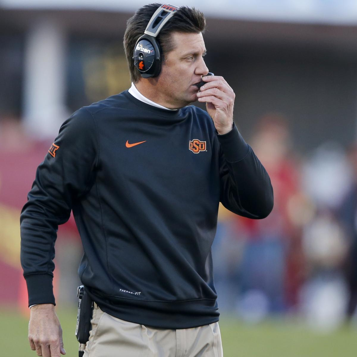 Mike Gundy, Oklahoma State Agree To New Contract: Latest