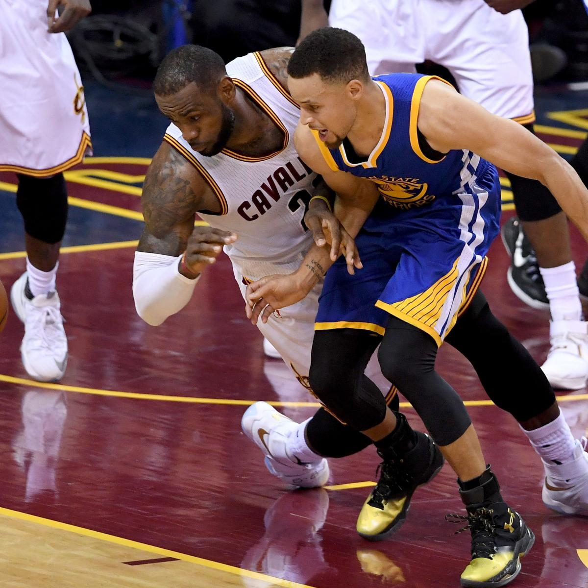NBA Finals 2016: Latest Cavaliers Vs. Warriors Odds And