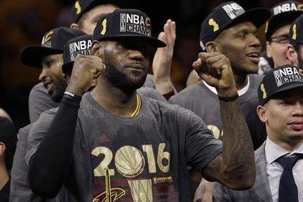 LeBron James Finally Has His Signature Moment