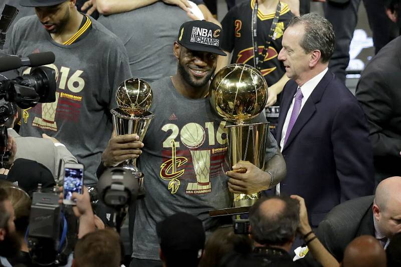8387b911d005 LeBron James  5th Player to Win at Least 3 Finals MVPs