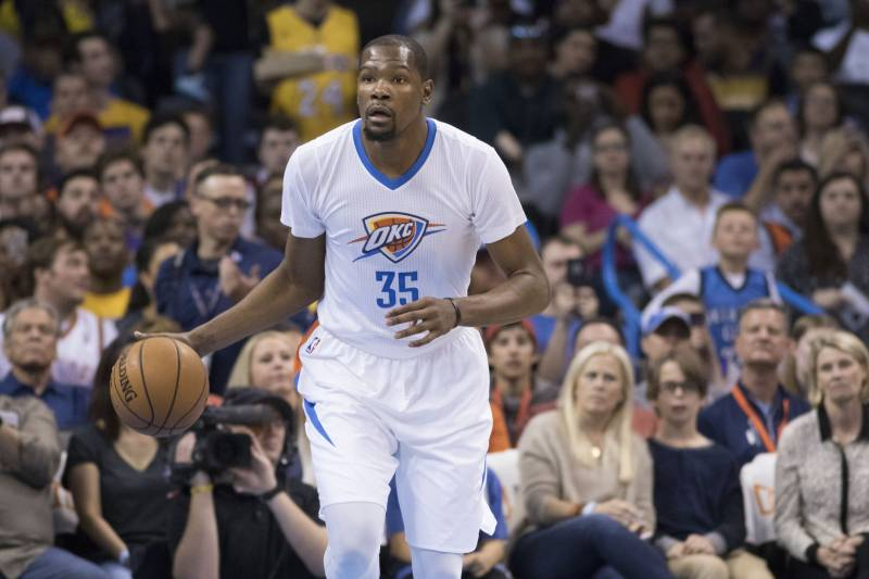 dcb4699b1 Lakers Rumors  Kevin Durant Reportedly Won t Meet with LA Regarding Free  Agency