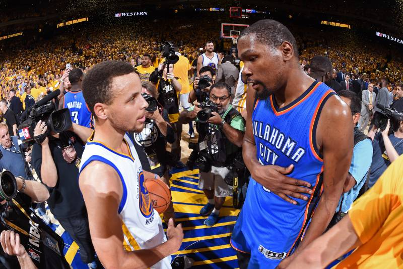 1caab76cbda Would Kevin Durant Signing with Golden State Warriors Ruin the NBA ...