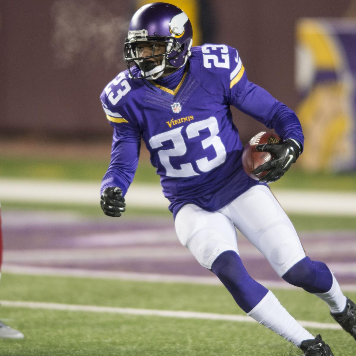 Terence Newman Agrees to Contract to Re-Sign with Vikings  b8e743755