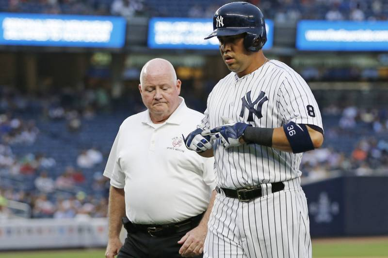 Carlos Beltran Injury Updates On Yankees Of S Hamstring And