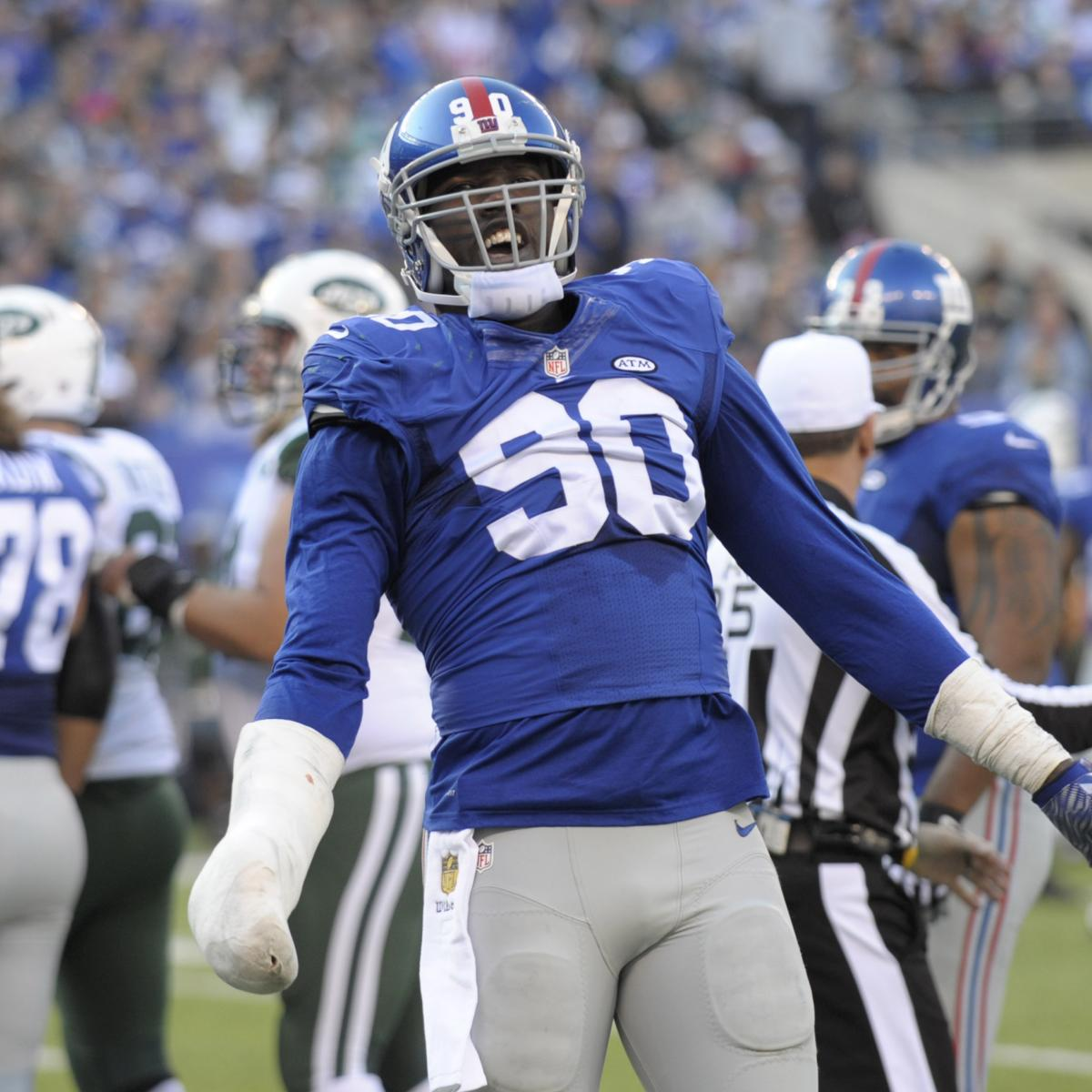 Jason Pierre-Paul Participates In Fireworks Safety PSA