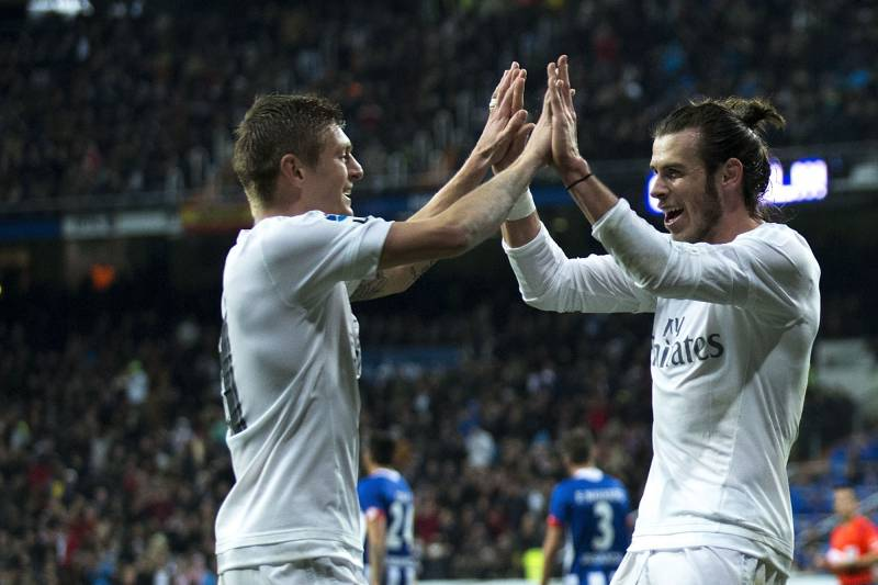 Image result for toni kroos and Bale